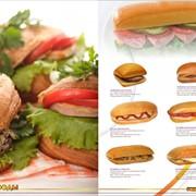 Бутерброды, выпечка фото