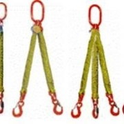 Текстильные стропы, желтая лента, ширина 90 мм, грузоподъемностью 4 и 8 тн, тип: 2СТ, 4СТ фото