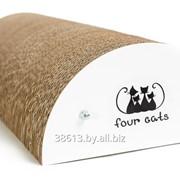 Когтеточка для кошки LUNA из картона фото