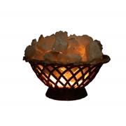 Лампа соляная Корзинка малая 1,5кг фото