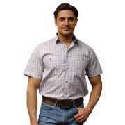 Рубашка с коротким рукавом фото