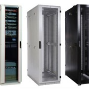 Телекоммуникационное оборудование Серверные шкафы 19″ (напольные) фото
