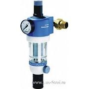 Фильтр промывной с манометром для холодной воды Honeywell F74C-3\4AA(100мк.) фото
