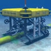 Обследование, ремонт и прокладка подводных переходов кабелей и трубопроводов (дюкеров) любого назначения, Прокладка кабелей и трубопроводов по дну водоемов фото