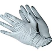 Перчатки латексные смотровые неопудренные текстурированные двойного хлорирования с удлиненной манжетой фото