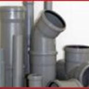 Трубы и фитинги канализационные полипропилен Чехия фото