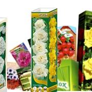 Производим и реализуем пакеты и упаковки для семян цветов, овощей, растений фото