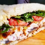 Вкусные бутерброды-треугольники производство и продажа. фото