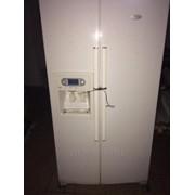 Холодильник Whirlpool Side-By-Side (белый). ТОРГ. фото