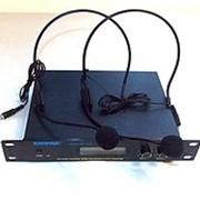 Радиомикрофон SHURE SM 58-II (с микрофонами на голову) фото