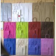 Крафт пакеты с нанесением логотипа фото