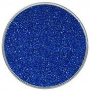 Цветной песок синий фото