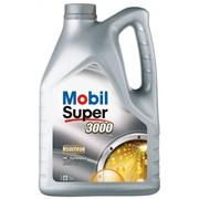 Синтетическое моторное масло Mobil Super 3000 X1 5W-40 5л фото