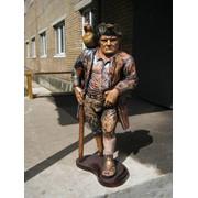 Резные деревянные скульптуры фото