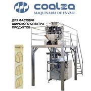 Вертикальное упаковочное оборудование для сыпучих продуктов Coalza RS-M. фото