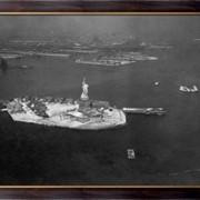 Картина Вид с воздуха на Статую Свободы, остров Эллис, Неизвестен фото