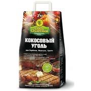 Уголь для барбекю, мангала, гриля Cococharcoal фото