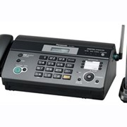 KX-FC965RU-T Panasonic факсимильный аппарат на термобумаге, Чёрный фото