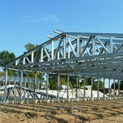 Строительство коммерческих зданий из легких стальных тонкостенных конструкций (ЛСТК) фото