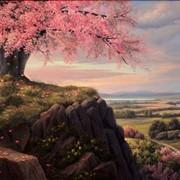 Роспись стен Брест масляная живопись фото