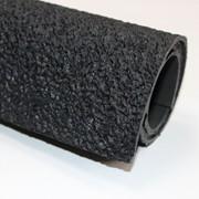 """Резина каучуковая листовая """"ПУРЕ"""" т. 2,5 мм черный фото"""