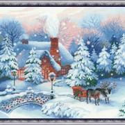 Набор для вышивания крестом Накануне Рождества фото