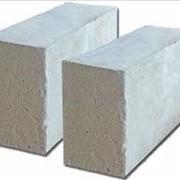 Блоки з ніздрюватого бетону стінові дрібні фото