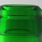 Стеклянная бутылка под розлив вина, зелёное стекло, 750 мл фото
