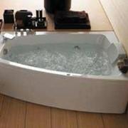 Ванна оригинальной формы с гидромассажем Albatros Kalima 160 фото