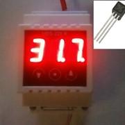 Терморегулятор D, от -55 до +125 градусов, выносной датчик, точность 0,1 С, термореле, термостат, на DiN-рейку, 220 В, инкубатор фото