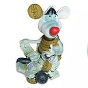 Подставка под телефон Крыс монетный 8,5см 740 фото