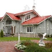 Дома из профилированного клееного бруса. фото