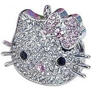 Флешка Hello Kitty Swarovski crystal 8 Гб фото
