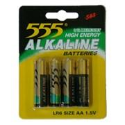 Батарейки 555 AA, Батарейки пальчиковые в Казахстане, Батарейки пальчиковые в Караганде фото