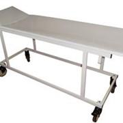 Тележка-каталка для перевозки больных со съемными носилками и регулировкой подголовника ТКПБ-4 фото