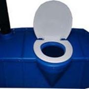 Накопительный бак Сидячий для туалетной кабинки 270 л. фото