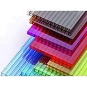 Сотовый поликарбонат от 3 до 10мм Прозрачный и цветной на складе. Для Теплиц, Беседок, Навесов. Доставка по всей области. Арт-№50 фото