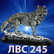 Статуэтка ВОЛК ИДУЩИЙ 28см фото