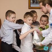 Шоу-программа в научном стиле на детский праздник фото