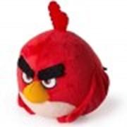 Игрушка плюшевая птичка 13см Angry Birds фото