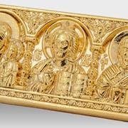 Икона металлическая тройная с липкой лентой №3 фото