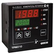 ТРМ210 ПИД-регулятор одноканальный с RS-485 фото