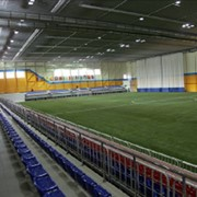 Быстровозводимый спортивный комплекс из легких металлоконструкций фото