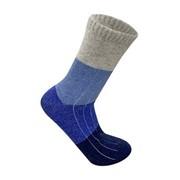 Термоноски ДЕМИСИЗОННЫЕ (тонкие) 70% цветная овечья шерсть, цвет синие фото