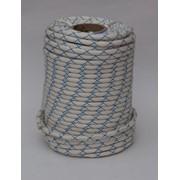 Шнур полиамидный статический ПРОМАЛЬП, класс А, диаметр 10,7 мм (веревка, шнур; 48 класс) фото