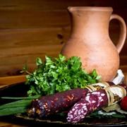 Сырокопченые колбасы, Владимирская висшый сорт фото