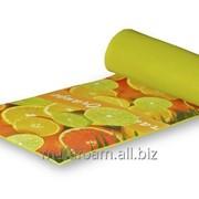 Коврик с декоративной пленкой Orange 7мм 0,50х1,8м фото