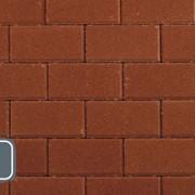 Тротуарная плитка Классико Standart красный фото
