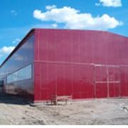 Здания и помещения складские, Складские и производственные модули, Система модульных зданий. фото