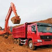 Доставка сипучих строительных материалов фото